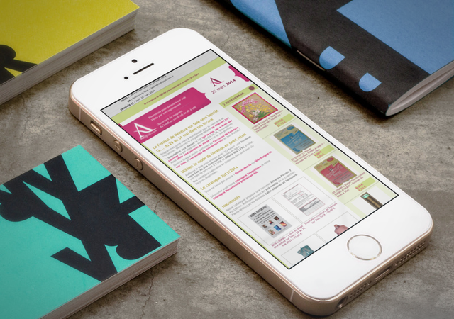 Newsletter Aubijoux, exemple campagne e-marketing